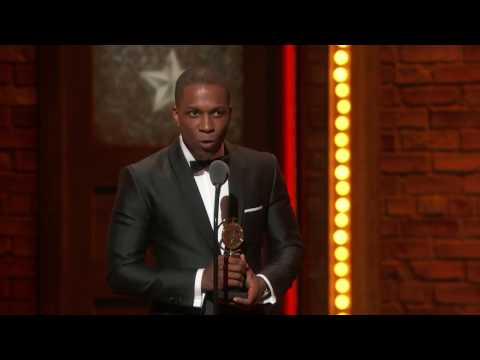 Acceptance Speech: Leslie Odom Jr. - Best Leading Actor in a Musical (2016)