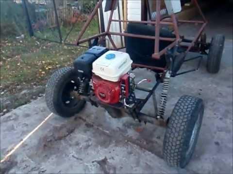 Квадроцикл своими руками 4х4 с двигателем