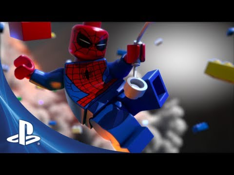 Lego Marvel Super Heroes Game Ps4 Playstation