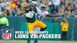 Lions vs. Packers | Week 10 Highlights | NFL