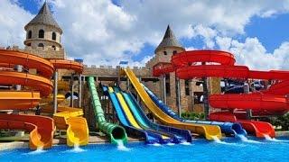 Aqua Paradise аквапарк,  НЕСЕБЪР - влог 29.08 - лято 2015