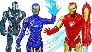Avengers Endgame Iron Man and Rescue couple! Go! #DuDuPopTOY