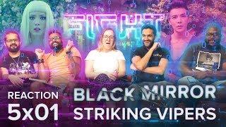 Black Mirror - 5x1 Striking Vipers - Group Reaction
