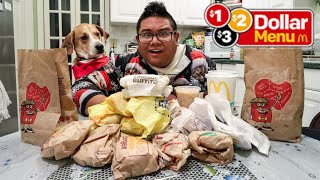 McDonald's Entire $1 $2 $3 Menu DOUBLED