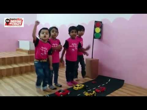 Little Elly babies have a traffic song that will make your heart melt...!!!