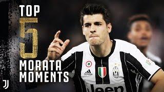 5 Moments of Morata Magic! | Álvaro Morata Top 5 Juventus Moments | Juventus