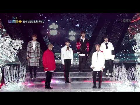 더 유닛 The Unit - 남자 보컬 초록 유닛이 들려주는 '12월의 기적' .20171216