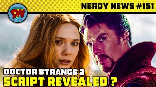 Doctor Strange 2 Script, Black Adam Release, Venom 2, Black Widow, Concept Arts | Nerdy News #151