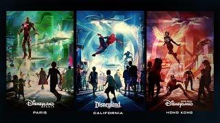 Avengers Assemble in New Themed Areas at Disneyland Resort, Disneyland Paris & Hong Kong Disneyland