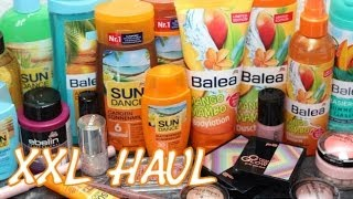 zaphiraw – XXL Haul (Balea, essence, Catrice, p2, Amazon)