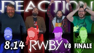 "RWBY 8x14 FINALE REACTION!! ""The Final Word"""