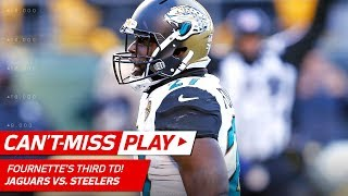Fournette's 3rd TD of the Day Set Up by Bortles' Huge Pass! | Can't-Miss Play | NFL Divisional HLs