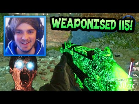 """BACK AGAIN!"" - Call Of Duty: Black Ops 2 ""WEAPONISED 115"" Camo! - LIVE W/ Ali-A! - Smashpipe Games"