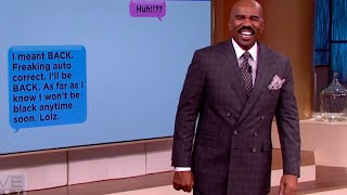 Steve Harvey's favorite autocorrect fails || STEVE HARVEY