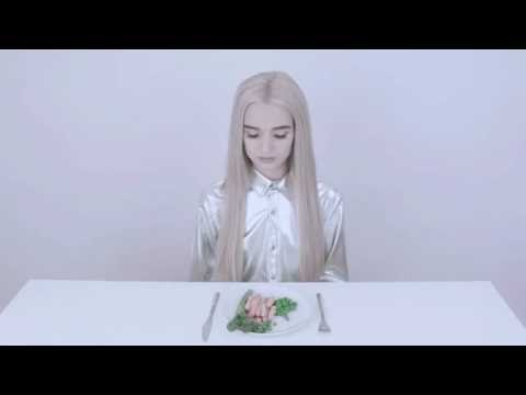 Poppy eats a meal
