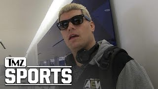 Cody Rhodes Says UFC Fighters Welcome In New Wrestling Promotion, But There's a Catch   TMZ Sports