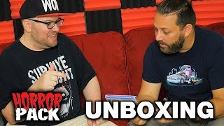 July 2019 Horror Pack Unboxing! - Horror Movie Subscription Box