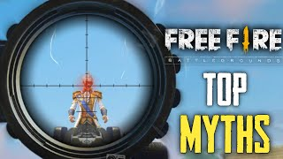 Top Mythbusters in FREEFIRE Battleground | FREEFIRE Myths #142