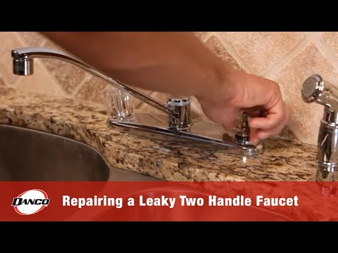 DANCO HOW TO | Repairing a Leaky Two-Handle Faucet