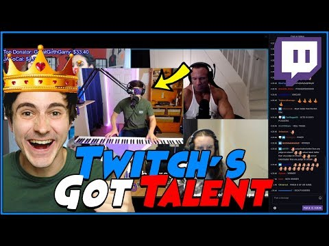 I WON TWITCH'S GOT TALENT!!!
