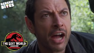 """The Lost World - Jurassic Park:  """"Later there's running, and screaming"""" Jeff Goldblum"""