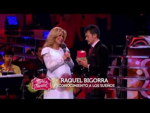 Reconocimiento a los sueños de Raquel Bigorra en esta navidad.
