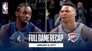 Full Game Recap: Timberwolves vs Thunder | Wiggins Drops 40 In OKC