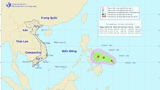 Tin Bão Mới Nhất: Áp thấp nhiệt đới gần Biển Đông có thể mạnh thành bão