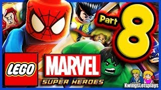 LEGO Marvel Super Heroes Walkthrough Part 8 X-MEN VS Juggernaut!