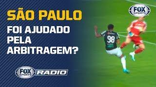 """SÃO PAULO FOI BENEFICIADO? Arbitragem do jogo contra o Ceará é o assunto no """"FOX Sports Rádio"""""""