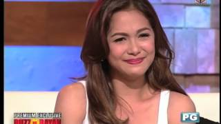 Buzz ng Bayan: Maja, in tears, tells bashers: Tao lang ako