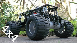 Lego Technic RC Monster Truck Chassis - With Instructions and Parts list