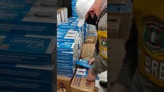 Brigada Militar e Polícia Civil apreendem 12 mil maços de cigarros contrabandeados em Três Passos