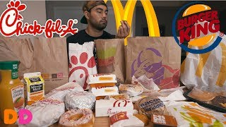 Ultimate Fast Food Breakfast Challenge