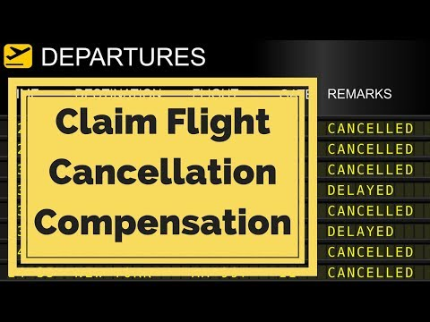 Claim Flight Cancellation Or Delay Compensation- £540 Compensation Flight Cancellation Or Delay