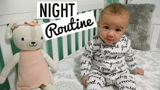Our Baby's Night Routine