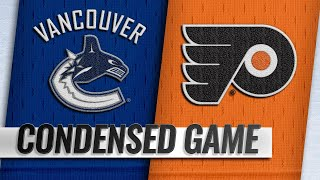 02/04/19 Condensed Game: Canucks @ Flyers