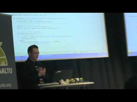 Android Aalto Keynote: NFC (part 2)