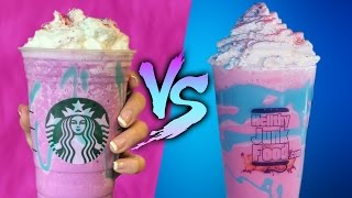 UNICORN FRAPP - DIY VS BUY *DO NOT WATCH THE END*