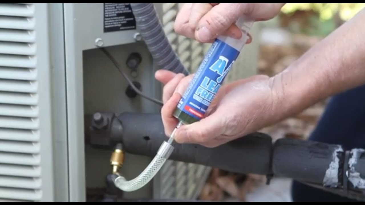 Hvacr Repair Is Easy With A C Leak Freeze Youtube