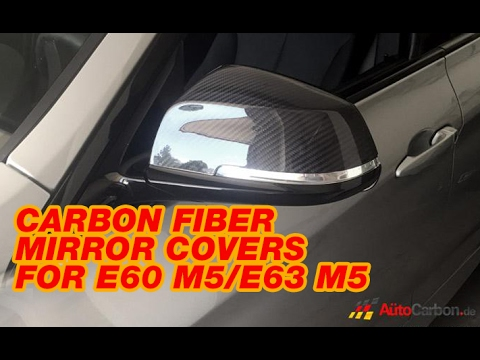 Bimmian AutoCarbon Carbon Fiber Mirror Covers For E60 M5/E63 M5 BMW