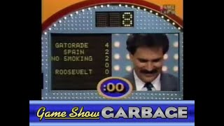 Game Show Garbage - Twas The Worst Fast Money Ever