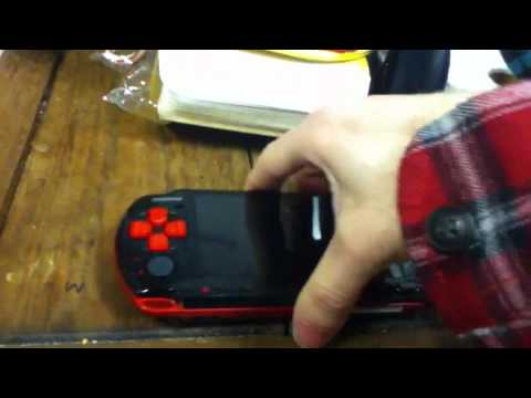 Psp 3000 Red And Black Awesome Modded Red Black Psp