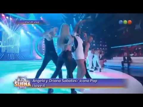 Baixar Ángela Torres & Oriana Sabatini son Icona Pop - I Love It | Tu Cara Me Suena Argentina