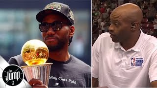 Vince Carter reacts to Kawhi, Paul George news: That just wasn't possible back in the day | The Jump