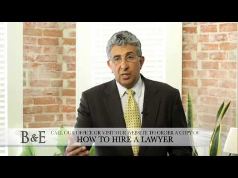 Visit http://www.bamiehericksonpersonalinjury.com/ today. Attorney Ron Bamieh, a Ventura personal injury lawyer, discusses what is involved with a personal injury consultation and the questions you should ask a lawyer. Call (805)...