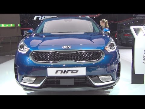 Kia Niro 1.6 GDi Hybrid with 6 DCT (2016) Exterior and Interior in 3D