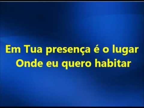 Baixar Em Tua Presença - Fernanda Brum(playback legendado)