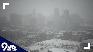 WATCH LIVE: Snow in Colorado