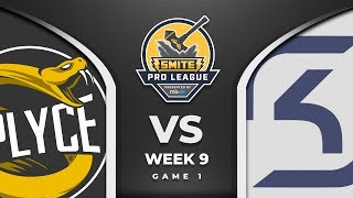 SMITE Pro League: Splyce VS SK Gaming (Game 1)